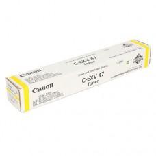 Оригинальный картридж Canon C-EXV47 Y 8519B002 / Yellow