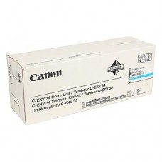 Фотобарабан Canon C-EXV34 Cyan / 3787B003AA оригинальный