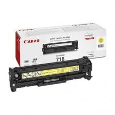Canon 718 Yellow / 2659B002 картридж оригинальный