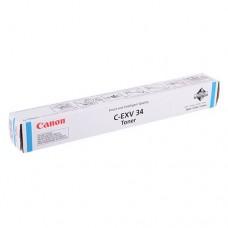 Canon C-EXV34 Cyan / 3783B002 картридж оригинальный