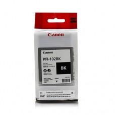 Оригинальный картридж Canon PFI-102BK 130мл