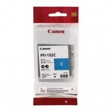 Оригинальный картридж Canon PFI-102C 130мл