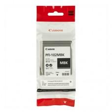 Оригинальный картридж Canon PFI-102MBK 130мл