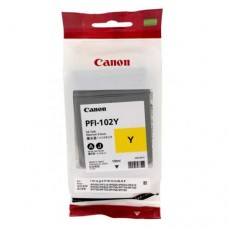 Canon PFI-102Y 130мл струйный картридж оригинальный