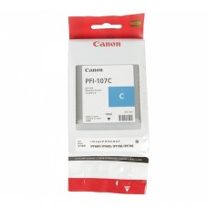 Оригинальный картридж Canon PFI-107C 130мл