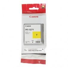 Оригинальный картридж Canon PFI-107Y 130мл
