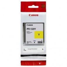 Canon PFI-120Y / 2888C001 130мл струйный картридж оригинальный