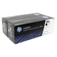 HP CB436AD / CB436AF двойная упаковка картриджей