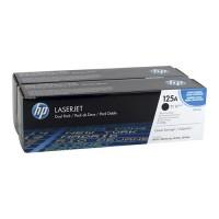 HP CB540AD / 125A двойная упаковка тонер-картриджей