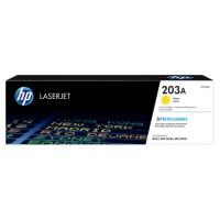 HP CF542A / 203A тонер-картридж оригинальный