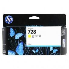 HP F9J65A № 728 Yellow струйный картридж оригинальный