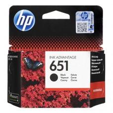 HP C2P10AE (№651) черный струйный картридж оригинальный