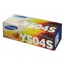 Samsung CLT-Y504S тонер-картридж оригинальный